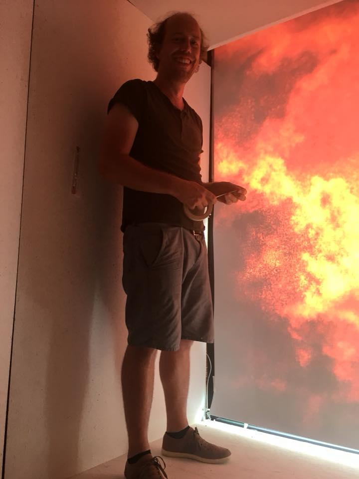 Pieter De Decker WARP K1 vitrine juli 2018