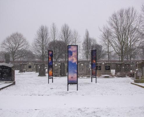 20190122 Pieter De Decker - Kerkhof Zwijndrecht sneeuw 7106