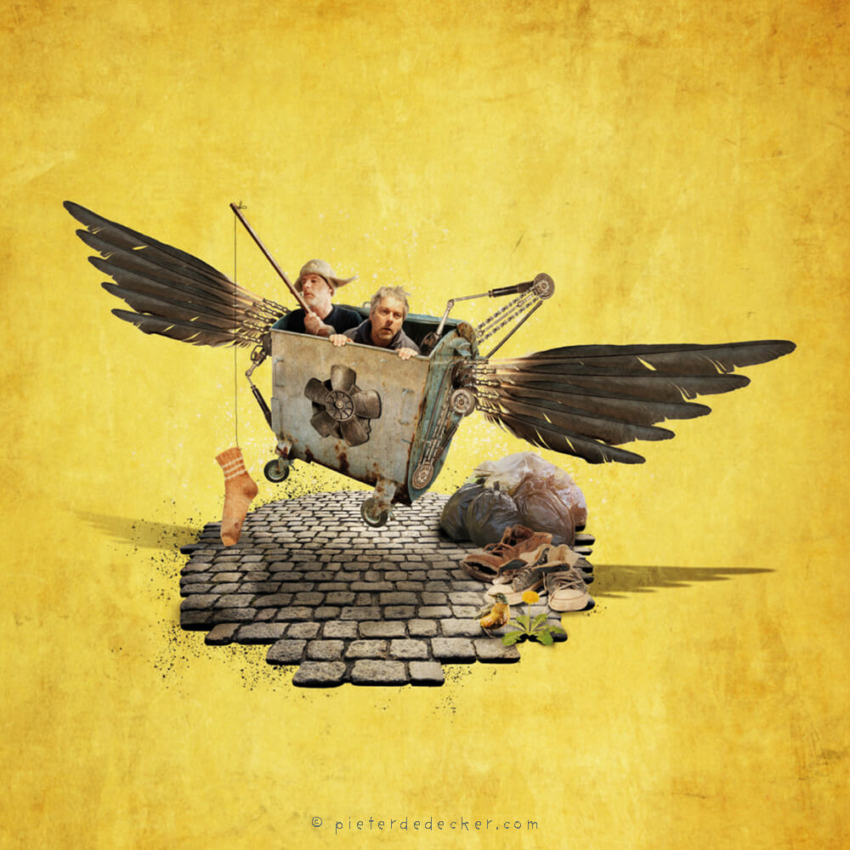 PieterDeDecker Illustrations rarevogels